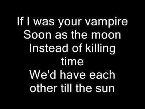 If I Was Your Vampire- lyrics by Marilyn Manson