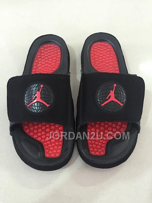 "http://www.jordan2u.com/2016-mens-jordan-hydro-9-slide-sandals-bred-black-red.html 2016 MENS JORDAN HYDRO 9 SLIDE SANDALS ""BRED"" BLACK RED Only $79.00 , Free Shipping!"