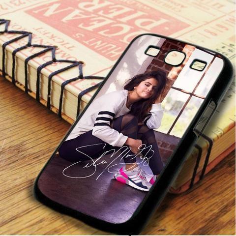 Selena Gomez Signature Cute Samsung Galaxy S3 Case