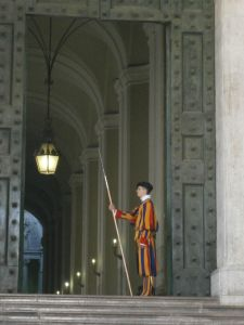 Swiss Guard Close-up