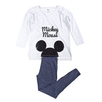Mickey long cotton pyjama.
