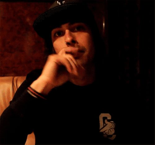"""Vic Fuentes - Pierce the Veil You know what's scary, I can almost hear him saying """"ok""""<<< yea...."""