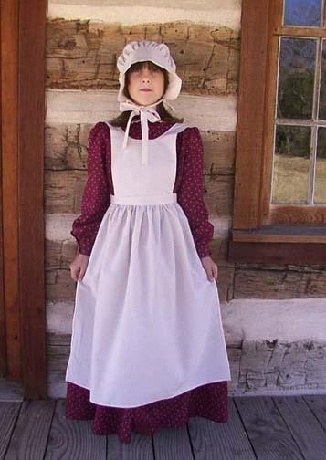 """Child pioneer dress and pioneer costume."" | Pioneer dress ..."