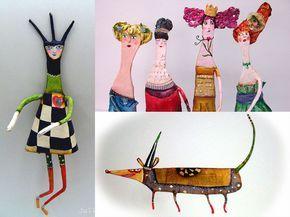 Вдохновляющие куклы от Juliana Bollini