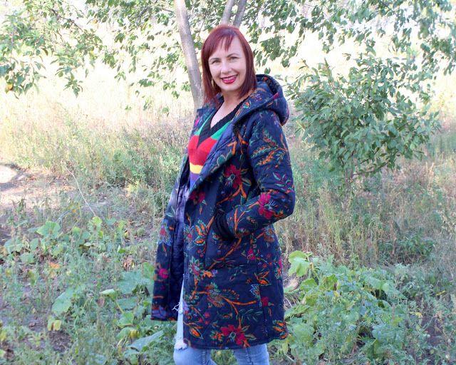 ©Бусинка: Покупки из Rosewholesale: Стеганная куртка с цвето...