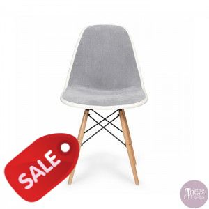 Replica DSW Eames Sidechair in grey fabric with timber legs These would  make awesome dining160 best Dream Kitchen images on Pinterest Dream  kitchens HomeEames Dining Chairs Perth  4x Replica Eames PU Leather Dining  . Eames Saarinen Replica Organic Chair Perth. Home Design Ideas