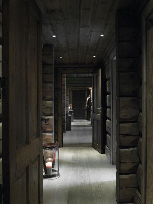 Hallway Norwegian Cabin
