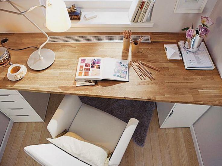 ber ideen zu wohnzimmer schreibtisch auf pinterest b ro wohnzimmer beleuchtung f r. Black Bedroom Furniture Sets. Home Design Ideas