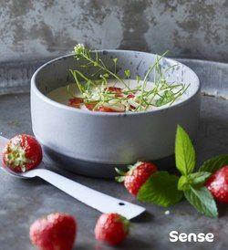 Koldskål med jordbær