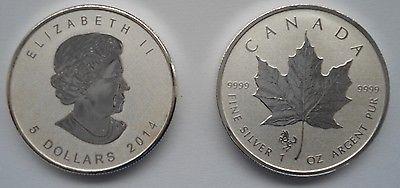 1 Unze Silber Kanada Maple Leaf Privy Mark Pferd / Horse 2014, 9999er Feinsilbersparen25.com , sparen25.de , sparen25.info