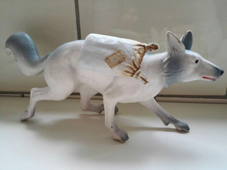 David de Kabouter: witte vos David the Gnome: white fox