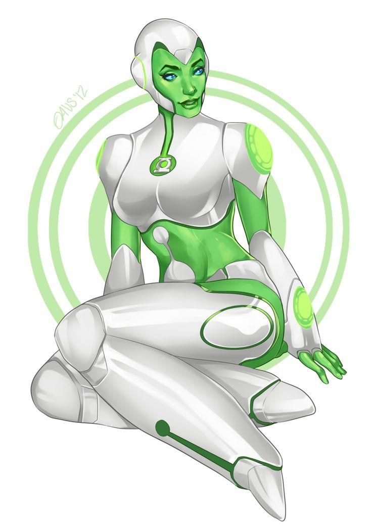 Variants Green LANTERN Cartoon sex can