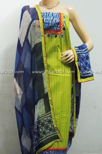 Beautiful Handloom Cotton Unstitched Suit Fabric