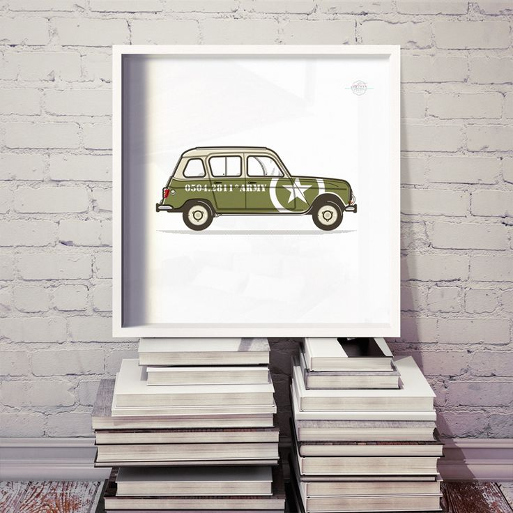 r4  |  renault 4  |  army