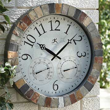 Best 25 Outdoor Clock Ideas On Pinterest Wall Clocks