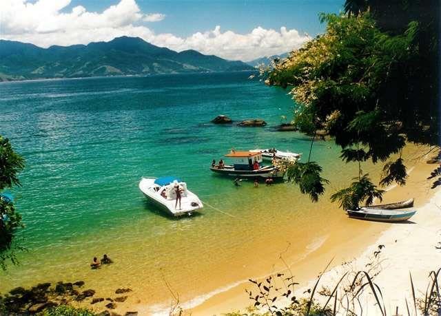 Beach in island, Angra