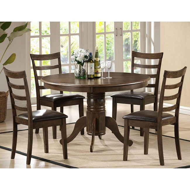 Cramco Inc Elmyra 5 Piece Table And Chair Set