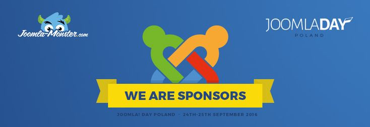 We are the premium sponsor of @JDayPoland Poland 2016! Joomla Day Poland 2016 is an another meeting of Joomla lovers. This time it take a place at Gliwice on 24-25 September 2016. #Joomla #JoomlaDay #JDPL16 https://www.joomla-monster.com/blog/news/we-are-sponsors-of-joomladay-poland-2016