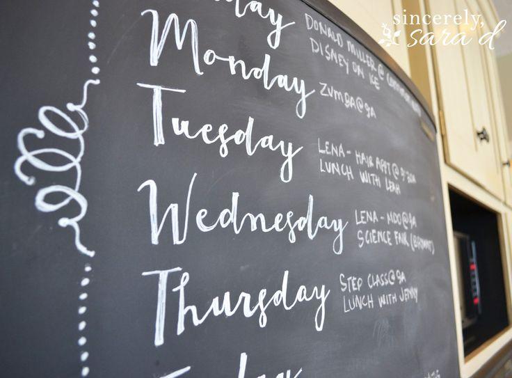 Chalkboard Fridge | Hometalk