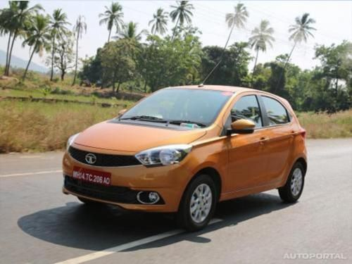 Tata Motors commence pre-booking procedures for Tiago hatchback at select dealerships. Tiago hatchback will be powered by petrol more about tata tiago visit on http://autoportal.com/newcars/tata/tiago/
