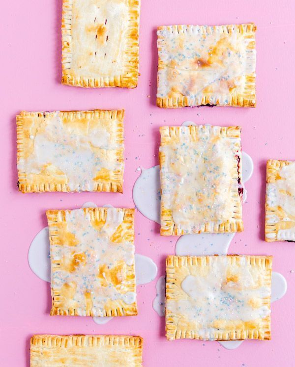 Homemade mixed berry pop tarts. Turns out, they're really easy to make!  Recipe on Paper & Stitch blog!