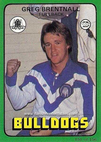 1978 151 Canterbury Bulldogs