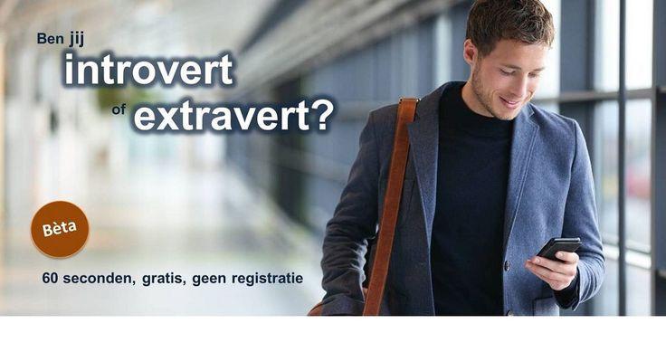 Korte test: ben je introvert of extravert? Ontdek je ware aard binnen een minuut.