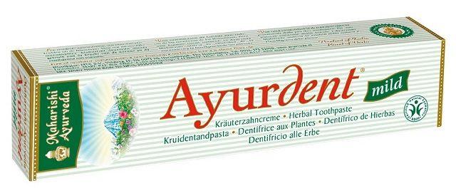 Az Ayurdent fogkrém 19 gyógynövény és természetes olajok felhasználásával készül, melyek számos antibakteriális és jótékony védőhatást fejtenek ki, így biztosítva a teljes körű szájhigiéniai hatást. Nem tartalmaz mesterséges aromákat, 100%-ban növényi összetevőkből áll. Már kapható a hazai gyógyszertárakban is: http://m.ajurveda.hu/Ayurdent
