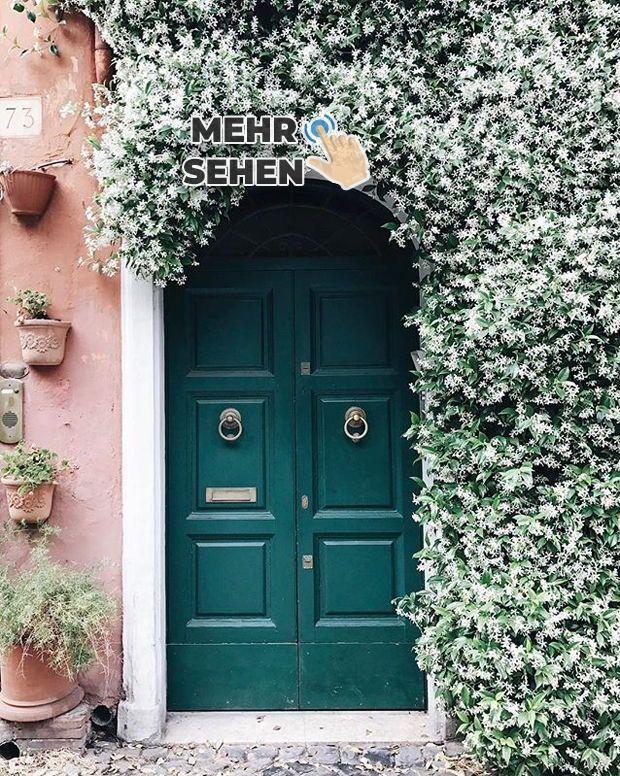 Lassen Sie Sich Von Atemberaubenden Inspirationen Rund Um Den Globus Inspirieren Grune Turen Fenster Und Turen Gartendesign Ideen