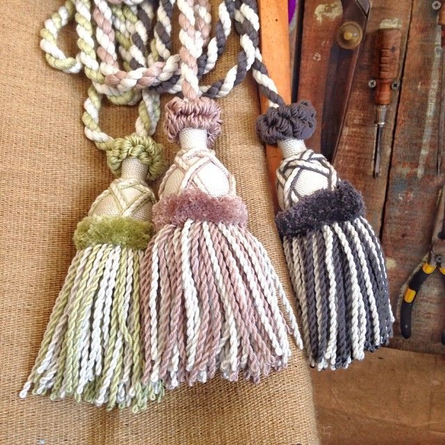 These light pull tassels are almost finished.  Just to attach the covered beads to go @boyac #ik26974 #keytassel #tassels #morrigami