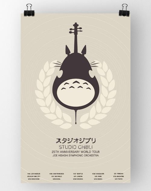 Studio Ghibli Concert Poster
