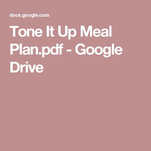 Tone It Up Meal Plan.pdf - Google Drive