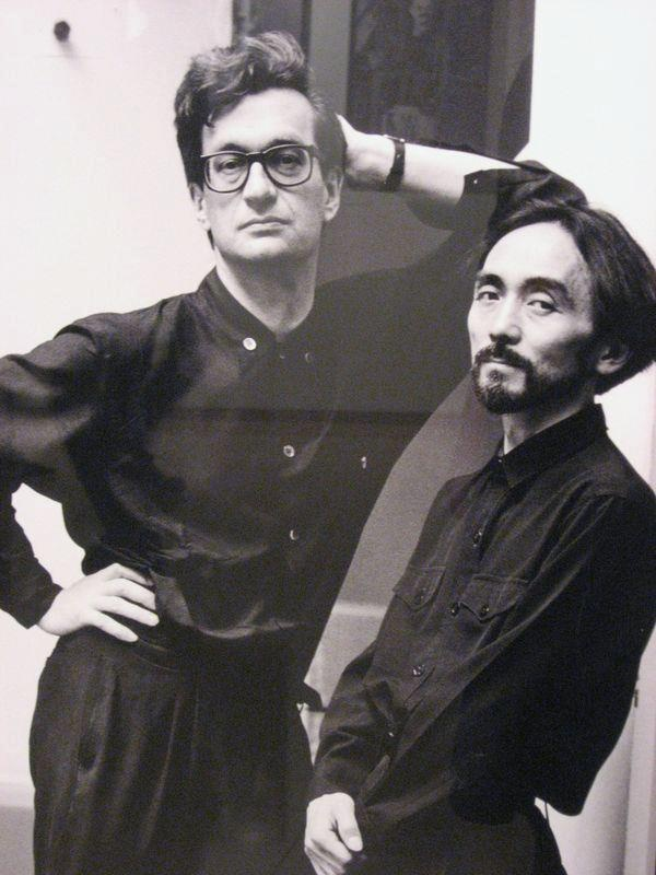 Wim Wenders and Yohji Yamamoto