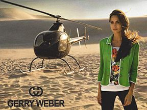 GERRY WEBER stands for a lifestyle that implements trends with style-confidence, a true master of the detailing game that always presents the looks with a real sense of purpose underlining the personality.