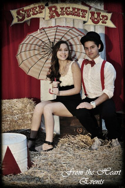 Circus Sweet 16 Party