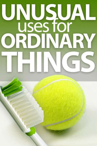 In this collection of 24 Instructables, you will learn unusual ways to use everyday items such as tennis balls, cheap vodka, nail polish, tea bags, coffee grounds, and medicated chest rub.