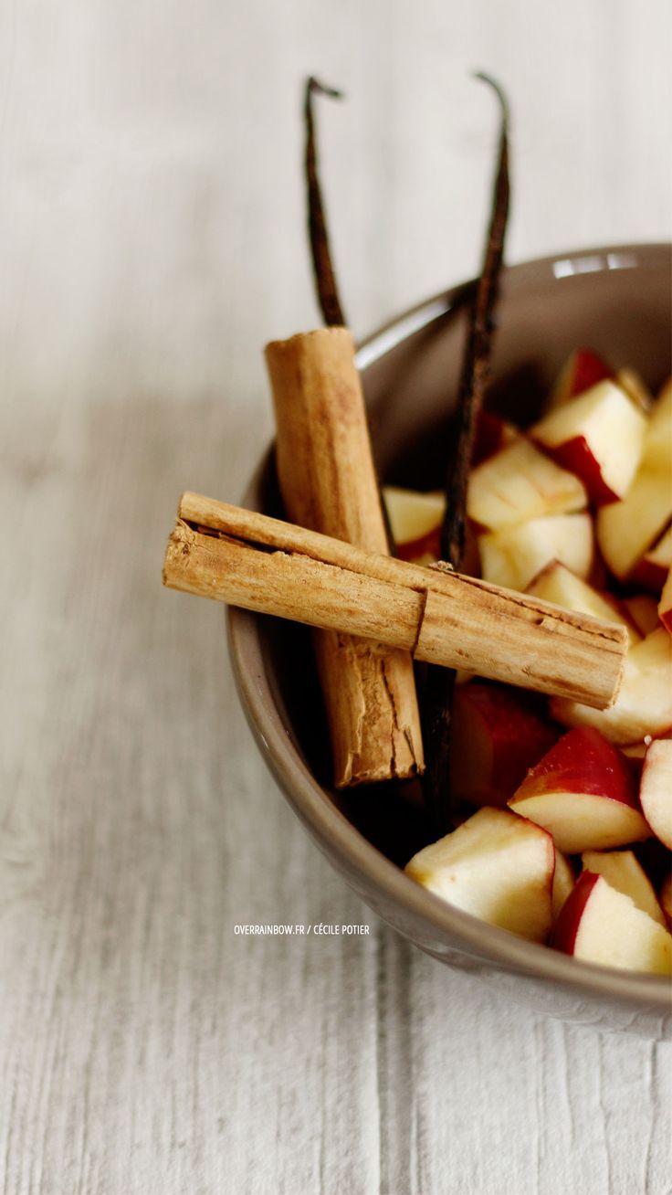 Infusion pomme/cannelle maison