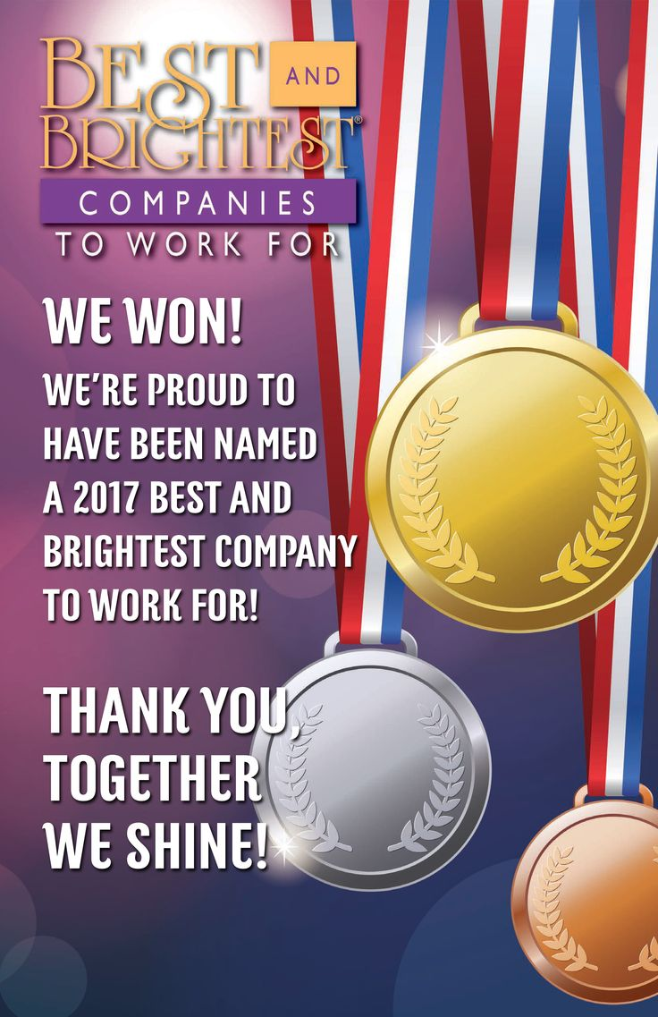 DMC Atlanta has been announced a 2017 National Winner for the 101 Best & Brightest Companies To Work For!!! For the 4th year in a row, our team has taken home this honor and wear this award with immense pride and appreciation! Stay tuned for more regarding this announcement 🏆    https://101bestandbrightest.com/events/2017-best-brightest-companies-work-nation/winners/?winyear=352
