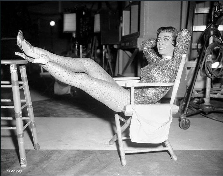 Torch Song - Joan Crawford bts