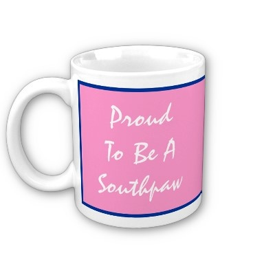 August 13th National Left-Handers Day, Proud To... Mug - on Zazzle