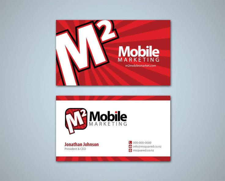 New stationery wanted for M2 - Mobile Marketing by Tcmenk