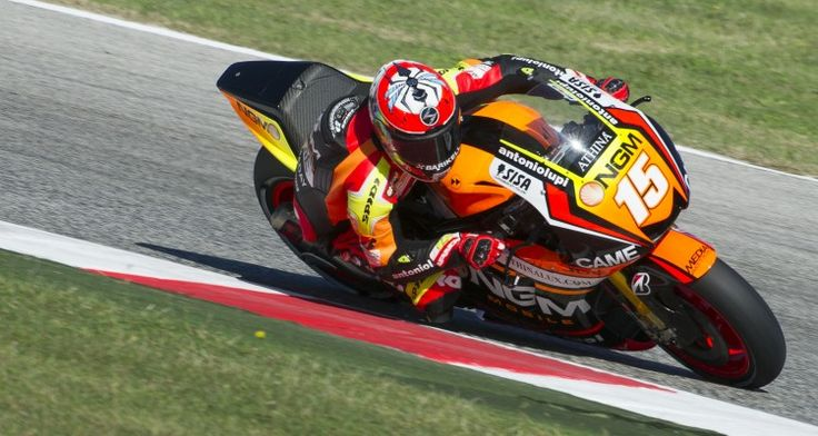 Alex De Angelis - Credit: NGM Forward Mobile Racing MotoGP Team and Mirco Lazzari