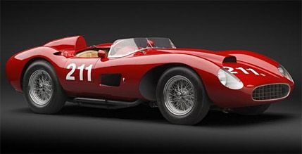 A 57 FERRARI COMES UP FOR AUCTION