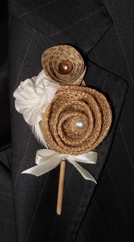 Boutonierre for the groom