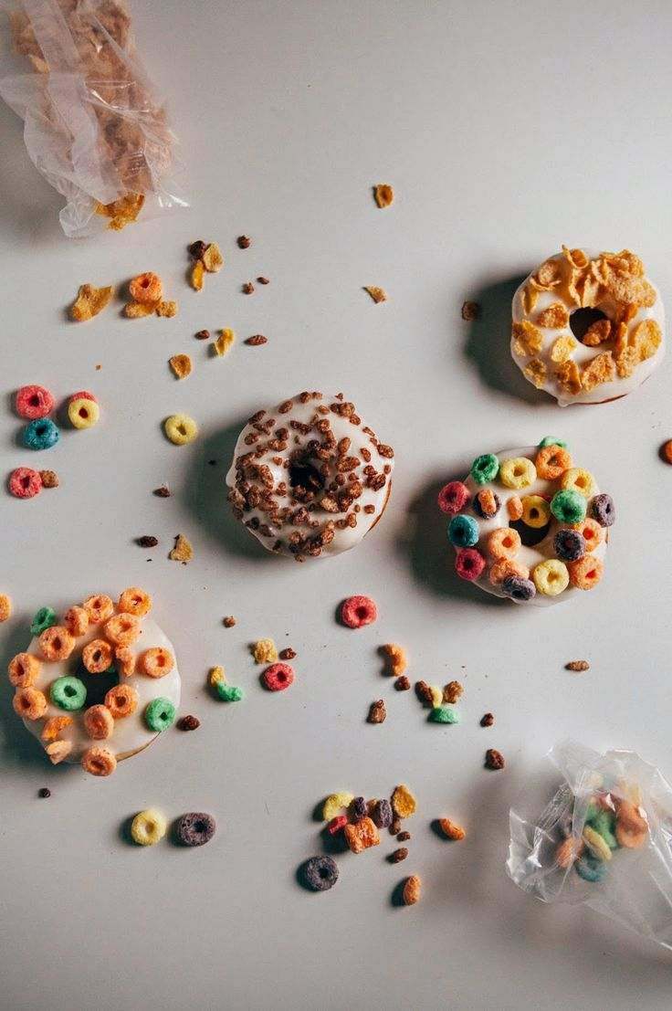 Hummingbird High - A Desserts and Baking Food Blog in Portland, Oregon: Breakfast Cereal Cake Donuts