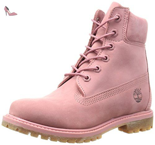 Timberland 6-inch Premium Boot Rose Rose 38 - Chaussures timberland (*Partner-Link)