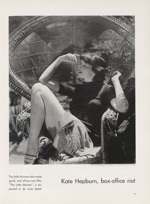 """Throwback Thursday: """"Kate Hepburn, Box-Office Riot"""" 