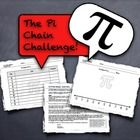 The Pi Chain Challenge is a novel and competitive way to explore what an irrational number looks like.  This challenge would be the perfect additio...