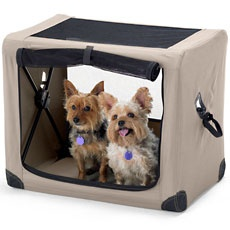 doggy travel crate