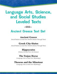 It's #FreebieFriday! Time to travel back to #ancientGreece with this #FREE Leveled Text Set! Normally $11.99, texts focus on Greek art, theater, scientific contributions, and mythology! Offer ends tonight (8/15/14) at midnight PST.